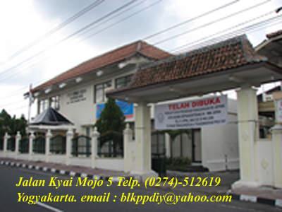BALAI LATIHAN KERJA (BLK) Yogjakarta