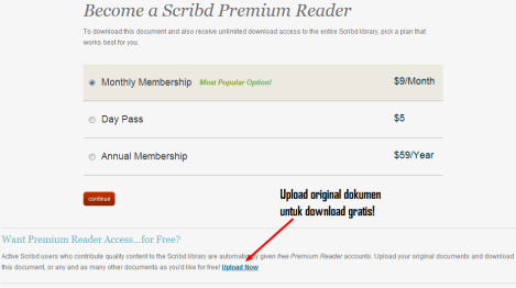 Download Scribd for free